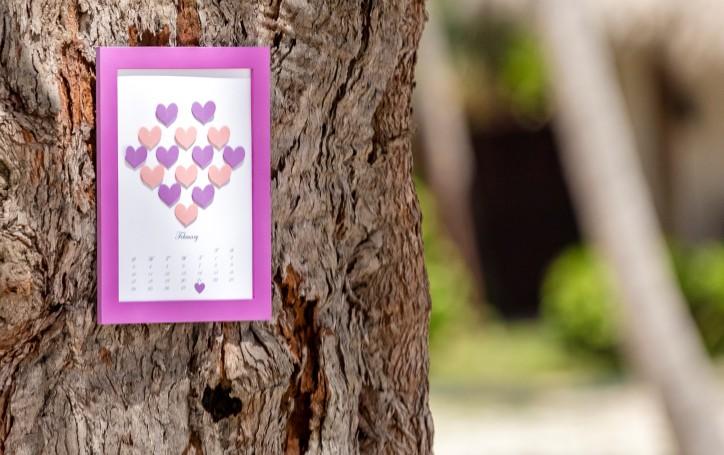 Персональный свадебный календарь