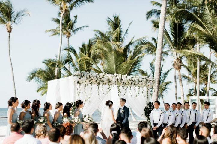 Свадебная церемония Доминикана. Pearl Beach Club