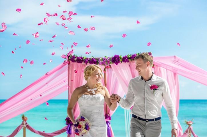 Официальная свадьба на острове Саона