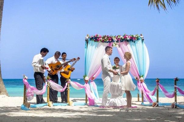Свадебная фотосессия на пляже Кап Кана, Доминикана