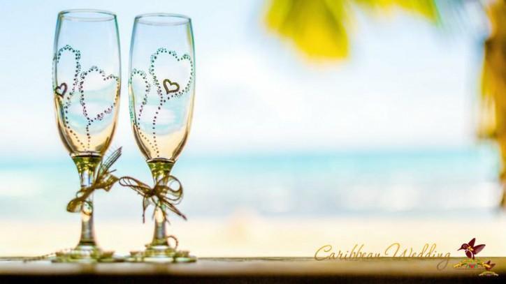 Оригинальные свадебные бокалы — настроение вашего праздника! – Читать далее