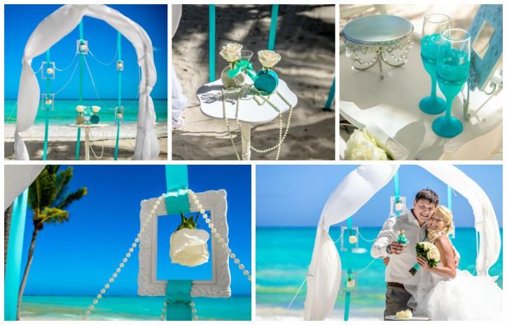 Воздушная свадебная арка