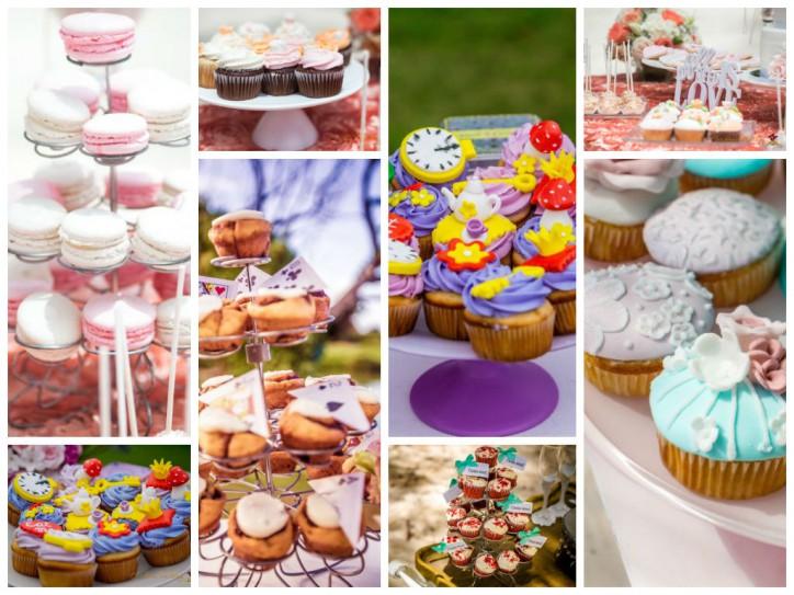 Капкейки — вкусное угощение и украшение свадьбы! – Читать далее