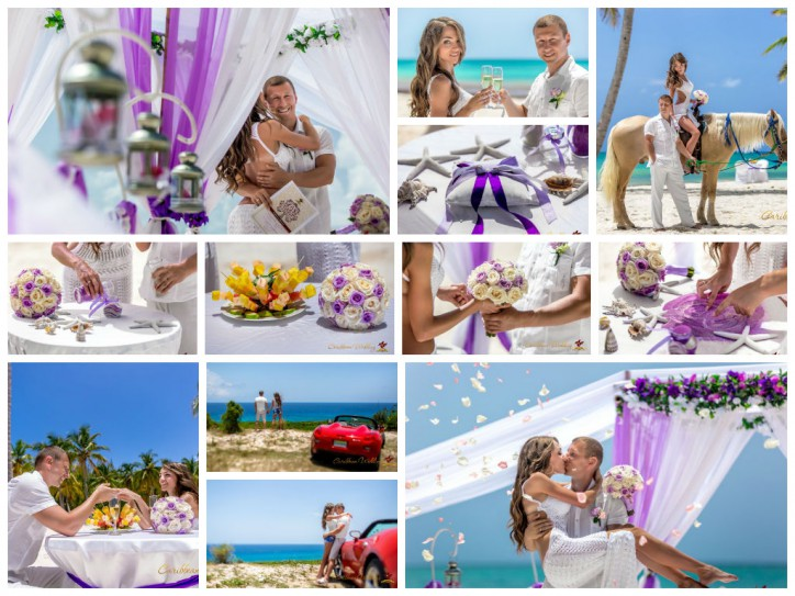 Свадебная церемония в Доминикане, Ангелика и Сергей