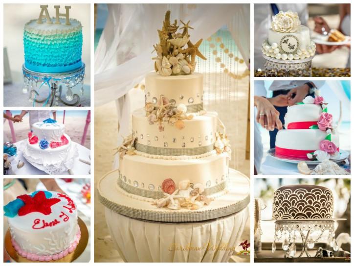Свадебный торт от Caribbean Wedding!