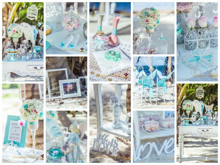 Свадебное оформление в стиле Tiffany – Читать далее