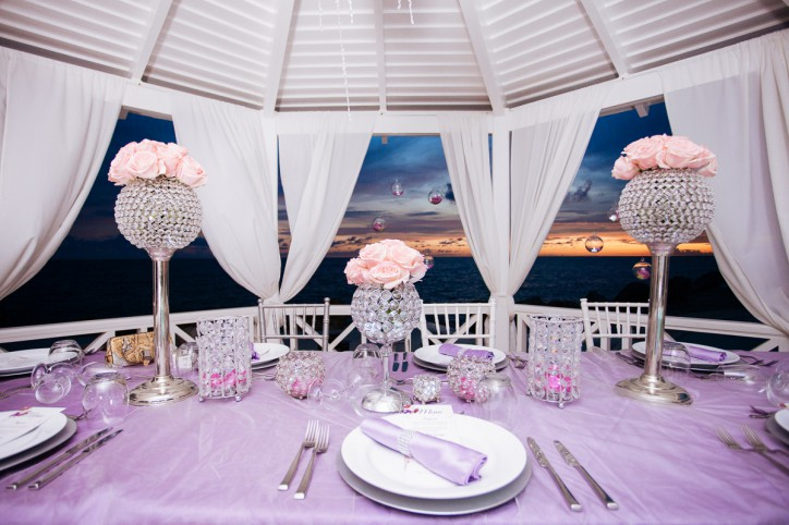 Свадебный стол: лучшие варианты сервировок