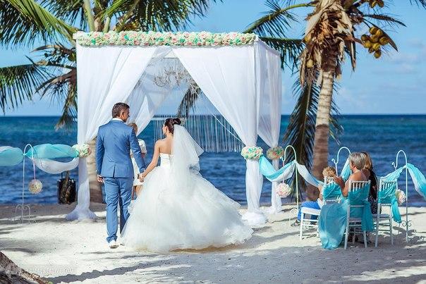 Свадьба в стиле Тиффани, Саша и Настя