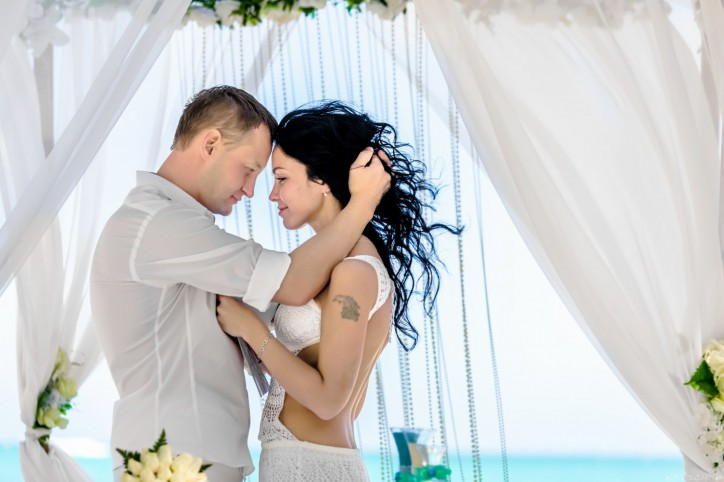 Официальная Свадебная Церемнония в Доминиканской Республике, Кап Кана и Love Story {Дмитрий и Милена}