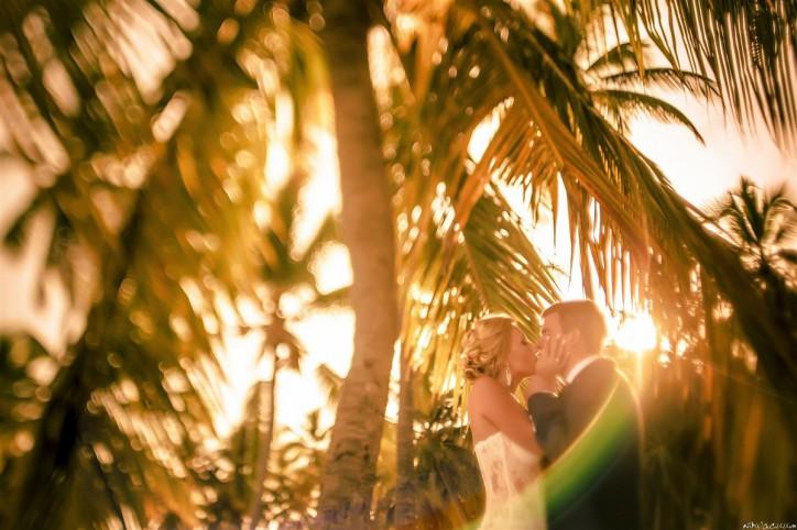 Свадебная фотосессия на пляже в Доминикане