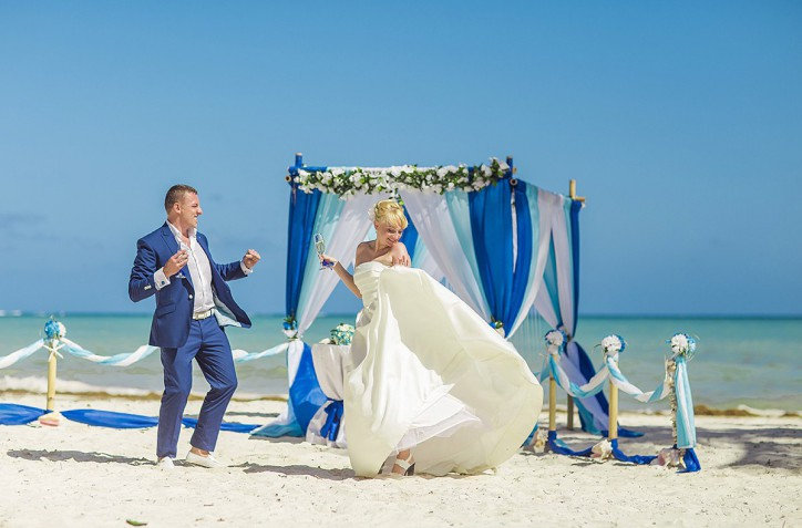 Официальная свадьба и фотосессия в Доминикане