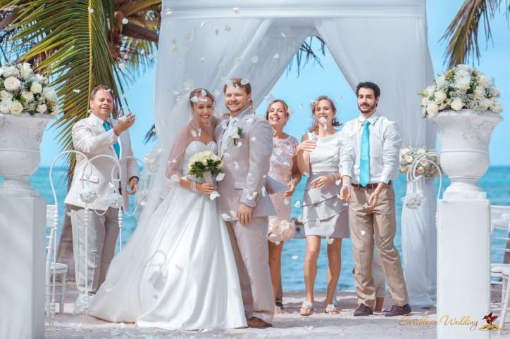 Свадьба в Доминиканской Республике Шанталь и Зак – Читать далее