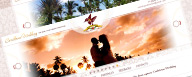 Caribbean Wedding site