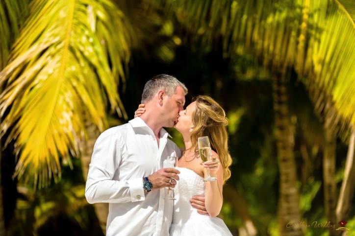 Свадьба на острове Саона со скдикой!