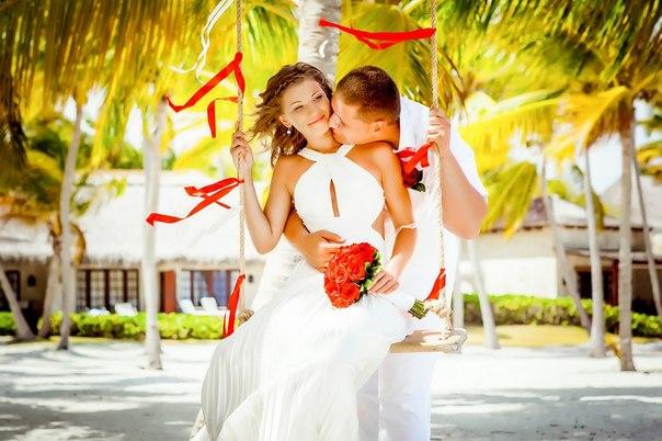 Свадебная церемония и фотосессия в Кап Кане