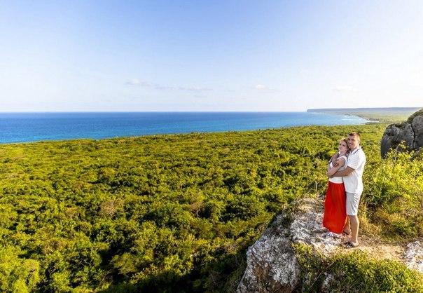 свадебное фото Доминикана
