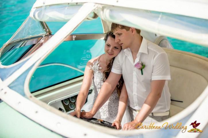 Свадьба и прогулка на яхте в Доминиканской Республике {Дарья+Евгений}