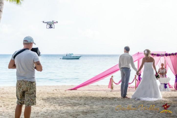 Съемка свадебного видео в Доминикане