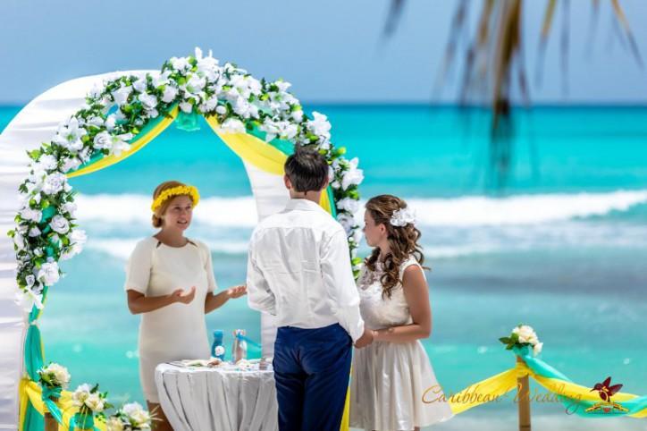 Свадьба на острове Саона {Михаил и Елена}