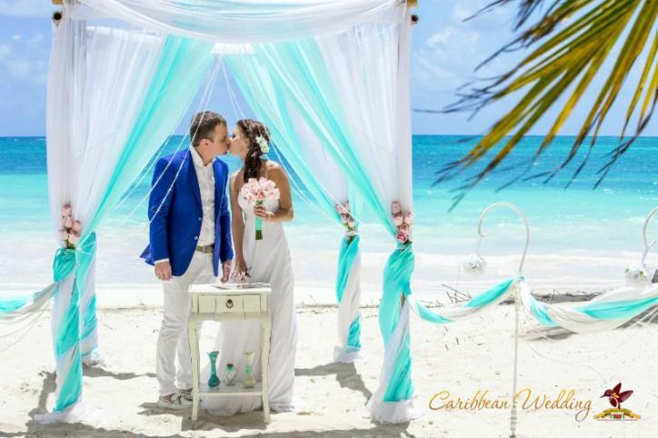 VIP Свадьба в стиле Тиффани, Марина и Артем