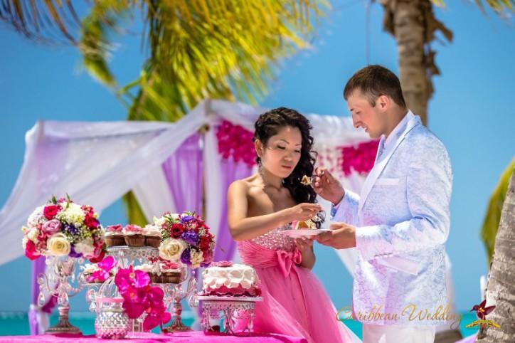 VIP СВАДЬБА «Розовая орхидея» в Доминиканской Республике. Кап Кана. {Максим и Юля}