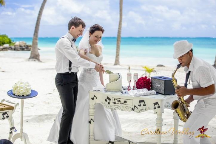 VIP свадьба в Доминикане, музыкальный стиль