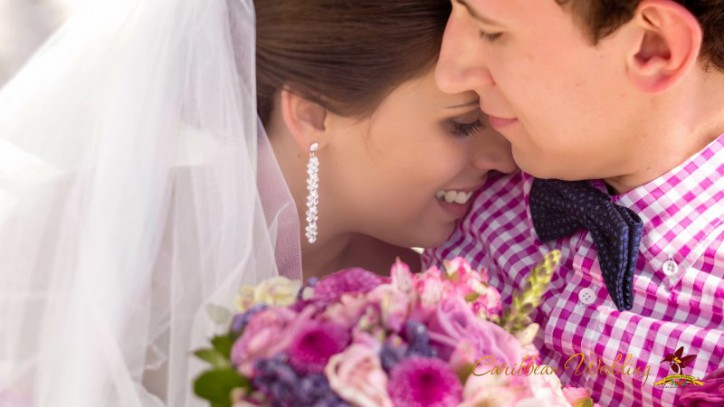 Романтическая официальная свадебная церемония в Доминиканской Республике {Никoелла + Евгений}