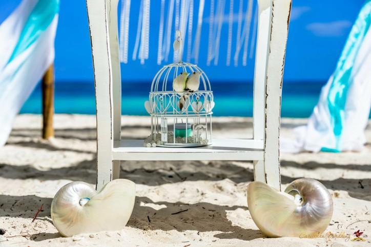 Морская свадьба на пляже Кап Кана {Илья и Анастасия}