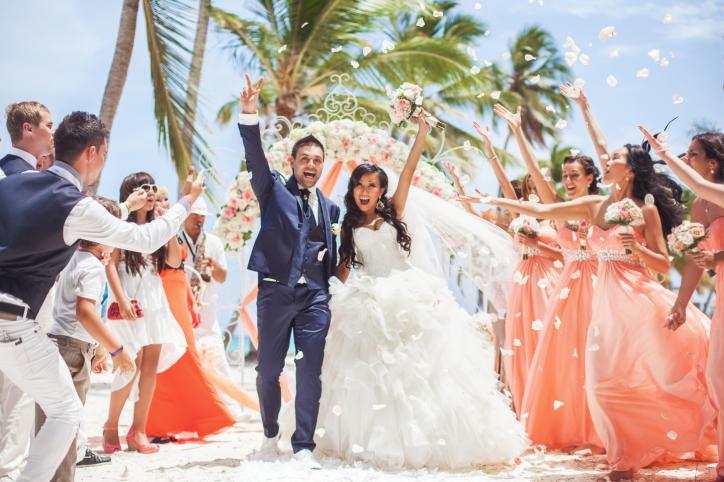 Свадьба в Доминикане: добро пожаловать в сказку!