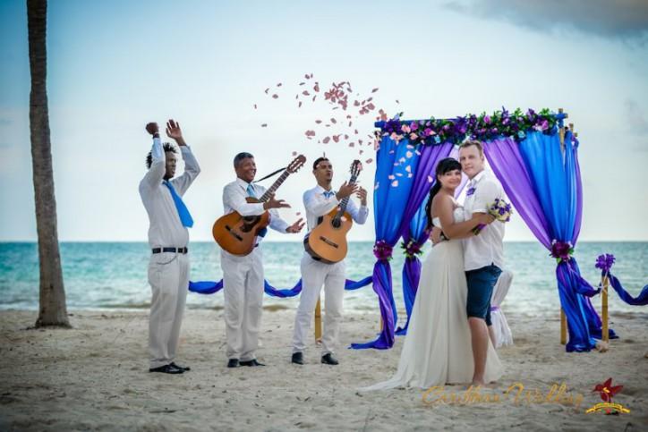 Свадьба в Доминиканской Республике, Кап Кана {Вадим и Ксения}