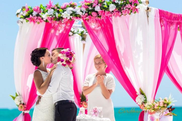 Свадьба в Доминиканской Республике, Кап Кана {Алексей и Юлия}